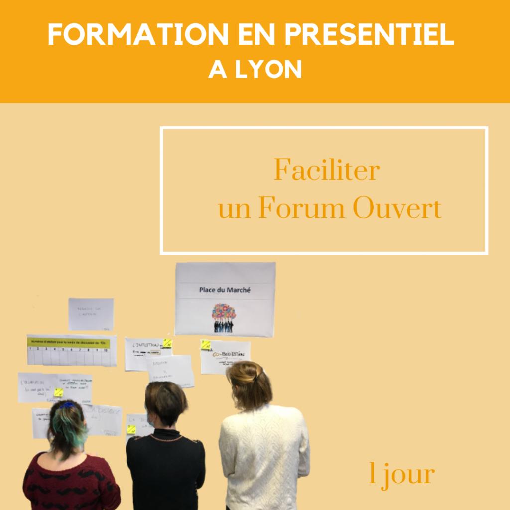 Formation en presentiel a lyon faciliter forum ouvert